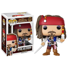 Funko Pop Jack Sparrow Piratas Do Caribe 172 Versão Original
