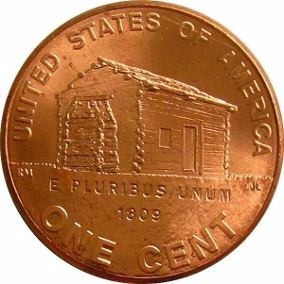 Moeda One Cent -2009 D