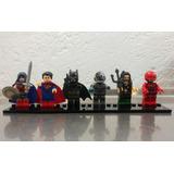 Liga De La Justicia Set 6 Figuras Lego Compatible Etc.