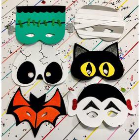 Máscaras Para Halloween En Fomi Foami Fomy