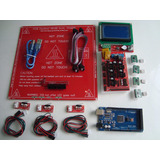 Kit Impresora 3d Ramps Arduino Mega Pololu Cama Lcd 128*64