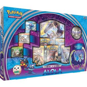 Pokemon Box - Coleção Alola - Lunala Gx - Azul