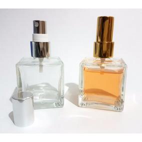 Frasco Vidro-cubo 50ml Para Aromatizador Valvula Spray Luxo