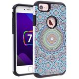 Estuche Iphone 7 Creativa Absorción Choque Alto Impacto Resi
