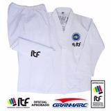 Traje Dobok Taekwondo Gran Marc Kimono Todos Talles Oficial