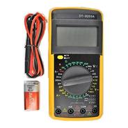 Multímetro Digital Profissional Bateria Capacímetro Dt9205a