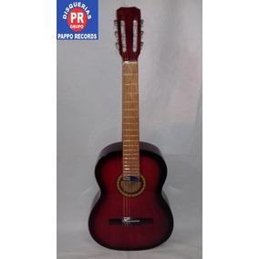 Guitarra Criolla Porteña Con Funda Pappo Records