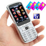 Celular Chino 4sim-chip Tv Fm Radio Bt 2microsd Foco 2led