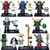 Kit Ninjago Deepstone Ninjas - Lloyd, Kai, Zane, Cole, Morro
