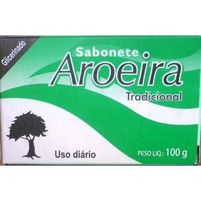 Sabonete Aroeira Em Barra - 12 Unidades -