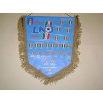 Banderin Federacion Italiana De Futbol Importado
