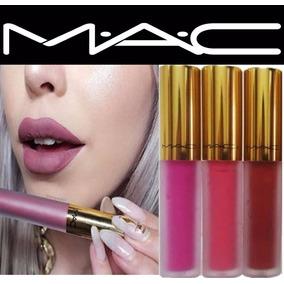 Labial Liquido Super Mate Mac De Lujo Maquillaje Tienda