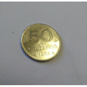 Moeda Antiga 50 Cruzeiros (1984)