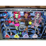 Monster High Ghoul´s Night Out - 4 Pack