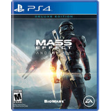 Mass Effect Andromeda Deluxe - Ps4 Fisico Sellado
