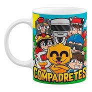 Tazas Niños Mikecrack Compadretes Personalizada