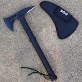 Hacha Táctico Sog Inox Combate Bombero Tomahawk Bushcraft