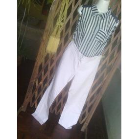 Conjunto Pantalon Lino Y Blusa Dama