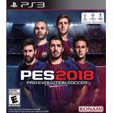 Pro Evolution Soccer 2018 Pes18 Digital Ps3 Neogamez