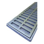 Grelha Pluvial E Suporte 15x100 Aluminio E Tela Anti Insetos