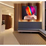 Cuadro Peluqueria Estilista Colorista Fantasy Colors 60x60cm