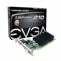 Placa De Video Geforce Gt210 1gb Ddr3 Low Profile Evga