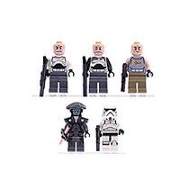 Juguete Lego Star Wars 5 Minifiguras Capitán Rex, Comandant