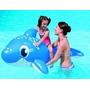Delfin Flotador Inflable Con Asas Marca Bestway 1.57 X 87