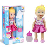 Boneca Baby Mylittle Collection Aliver Faz Xixi Divertoys