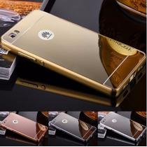 Funda Huawei P8 Lite G Elite P9 Lite Bumper + Cristal Templa