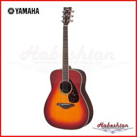 Guitarra Acustica Yamaha Fg730s - Tapa Maciza - En Palermo