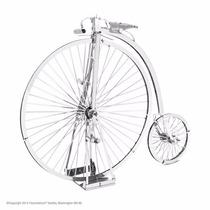 Rompecabezas 3d Bicicleta Antigua Metal Earth