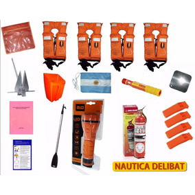 Kit Elementos Seguridad Nautica Embarcaciones - Tigre