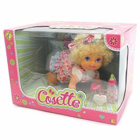 Cosette Muñeca Canta Y Gatea