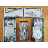 Cajas, Bandejas, Instrumental Odontología Varios