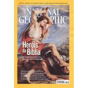Revista National Geografic Brasil Heróis Da Bíblia