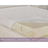 Capa Protetor  Colchão Imper Pvc   Solteiro Box+ 1 Casal Box