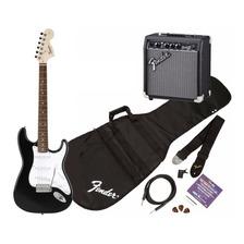 Pack Squier Fender Guitarra Electrica Strat Con Amplificador