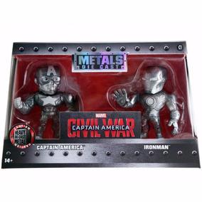 Boneco De Metal Die Cast - 2 Bonecos Guerra Civil M51