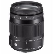 Lente Sigma Canon 18-200mm F/3.5-6.3 Dc Macro Os Hsm