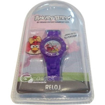 Angry Birds Reloj Cuarzo By Rovio Entertainment Original !