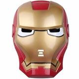 Mascara Iron Man Con Luz Excelente Marvel