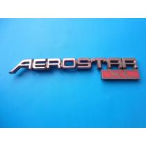 Emblema Aerostar Xl Ford Camioneta