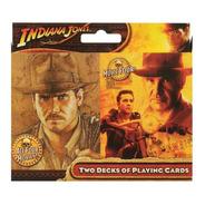 Baralho Indiana Jones - Deck Duplo - Imagens Dos Filmes