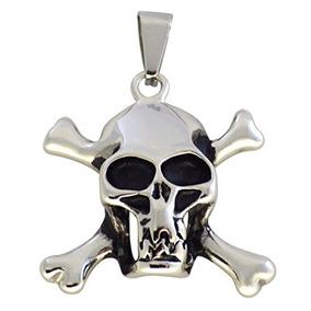 Collar Del Cráneo Y De Los Crossbones Del Pirata De Rogelio