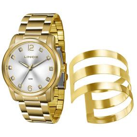 Kit Relógio Lince Feminino Com Bracelete Lrg4391l K190 C2kx