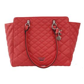 Bolsa Guess Carenza Para Dama Vy680523-lip Color Rojo Claro*