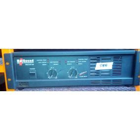 Amplificador Potencia Hotsound Hs 2.0 Sx - Cl Audio - 80
