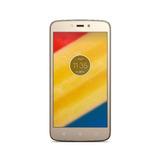Celular Moto C Plus Dorado Pantalla 5 Bateria 4000 Mah