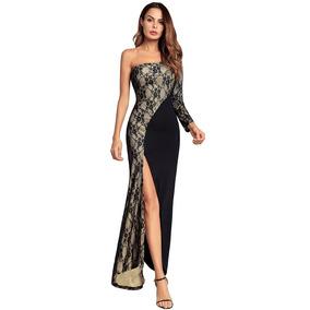 Vestido De Fiesta Largo Dia Noche Envio Gratis !